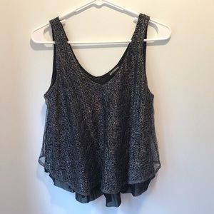 EXPRESS NIGHT-OUT CROP TOP